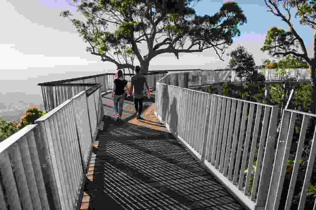 Mount Archer Nurim Circuit Elevated Boardwalk by Design and Architecture  with Rockhampton Regional Council.