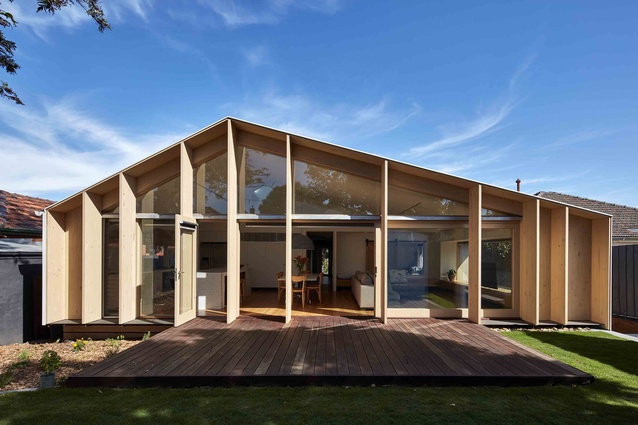 Lean-To House by Warc Studio.