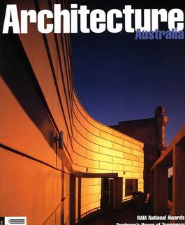 Architecture Australia, November 1998