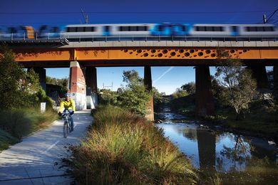 Clifton Hill Railway Project Landscape by Jeavons Landscape Architects.