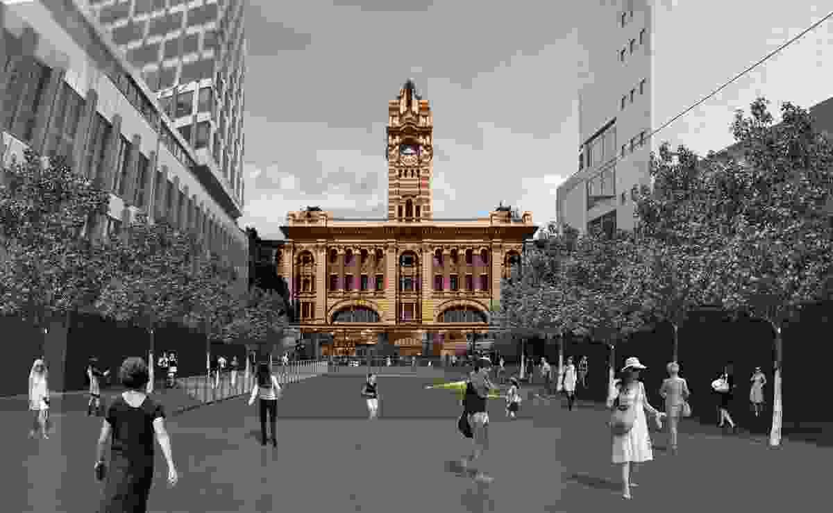 John Wardle Architects + Grimshaw: Flinders Street Station.