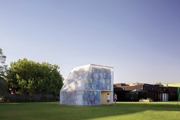 Plastic Palace is the first iteration of what will be an annual commission by Albury City Council and Murray Art Museum Albury. The project makes visible the growing problem of waste management.