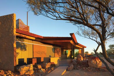 2013 State Award for Public Architecture winner: Australian Age of Dinosaurs Museum by Cox Rayner Architects.