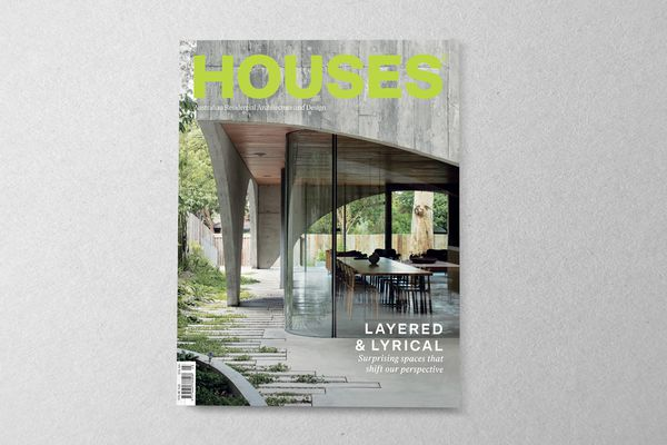 Houses 128. Cover project: Hawthorn House by Edition Office.