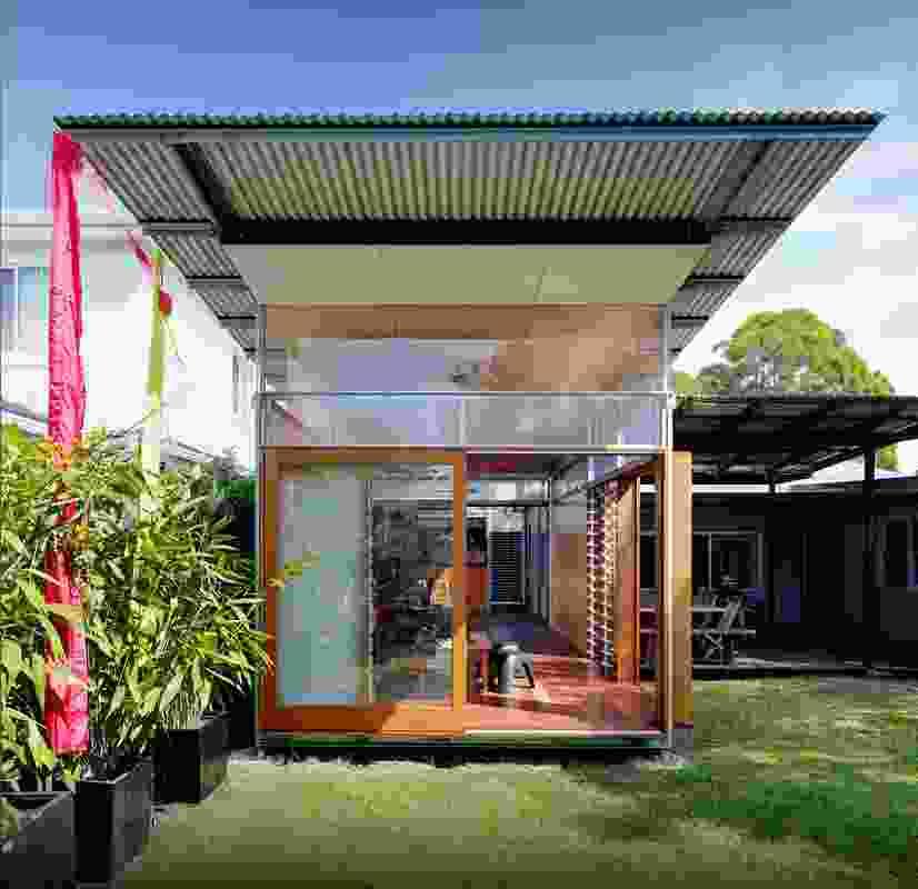 Studio / Granny Flat by Sue Harper Architects.