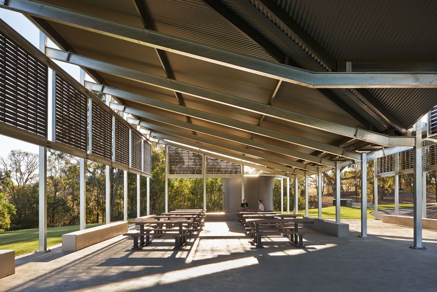 AGL Lakeside Pavilion by Anthony Nolan, Kennedy Associates.