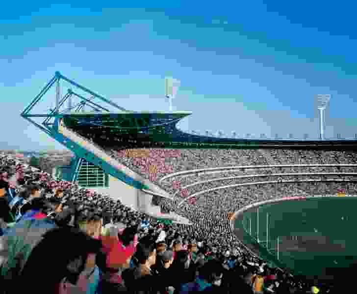 The Great Southern Stand at the Melbourne Cricket Ground by Jackson Architecture.
