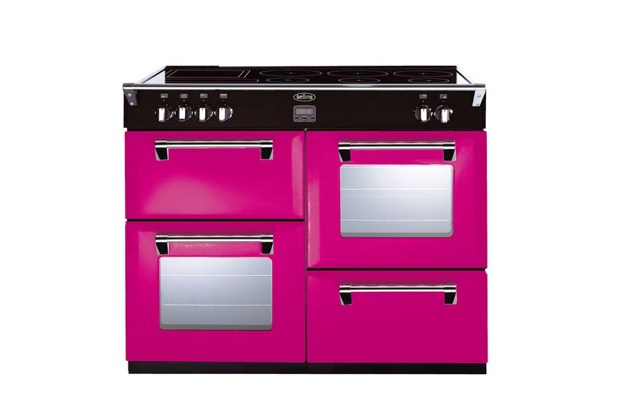 Colour Boutique range cookers from Belling.