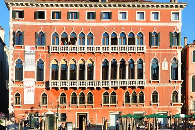 The Palazzo Bembo on the Grand Canal in Venice.