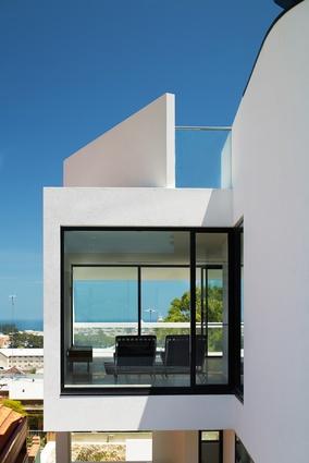 Modern trio terrace houses in fremantle architectureau - Modern architectural trio ...
