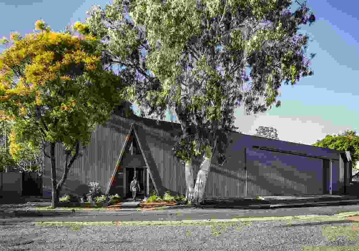 Colorbond Award for Steel Architecture: Peakaboo House by Alcorn Middleton.
