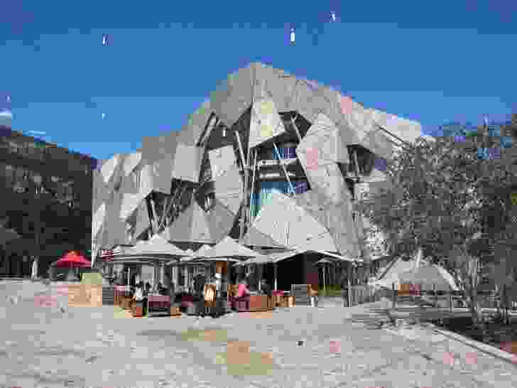 The Yarra Building at Federation Square designed by Lab Architecture Studio and Bates Smart.