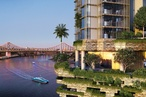 WOHA and Architectus reimagine the Queenslander as riverfront tower