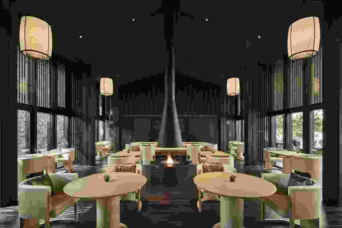 Commendation for Interior Architecture: Aman Kyoto (Japan) by Kerry Hill Architects.