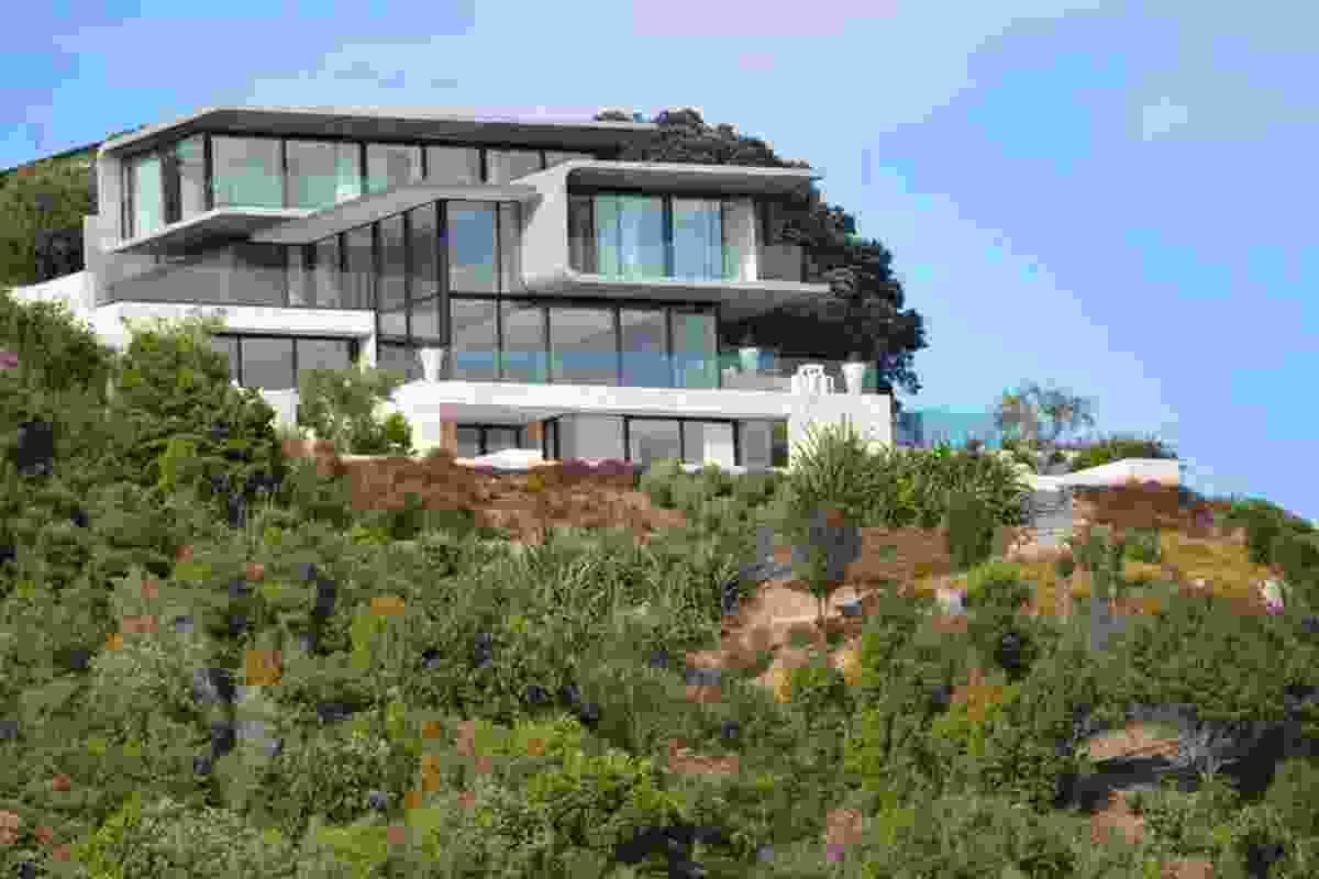 Housing category finalist: Hekerua Bay House, Waiheke Island by Archimedia.