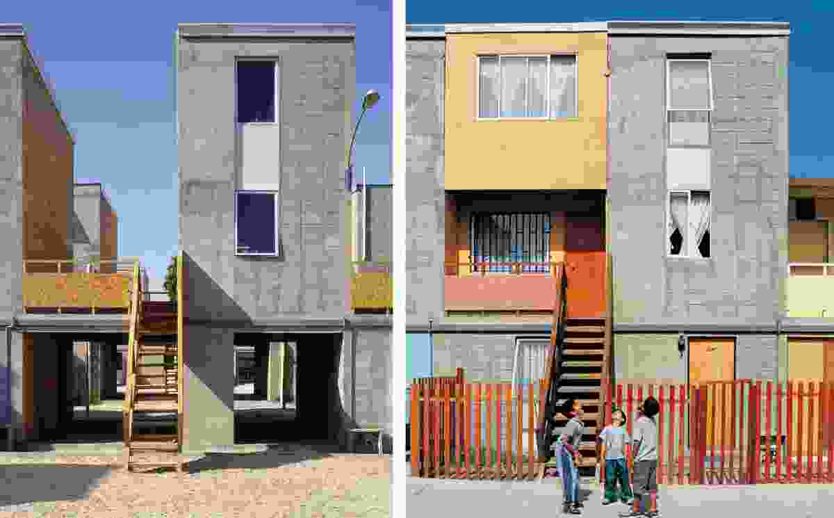 Quinta Monroy Housing, 2004, Iquique, Chile by Elemental