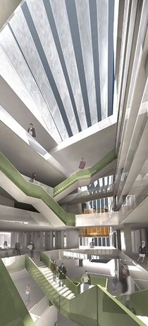 Winning entry by John Wardle Architects and Office dA.