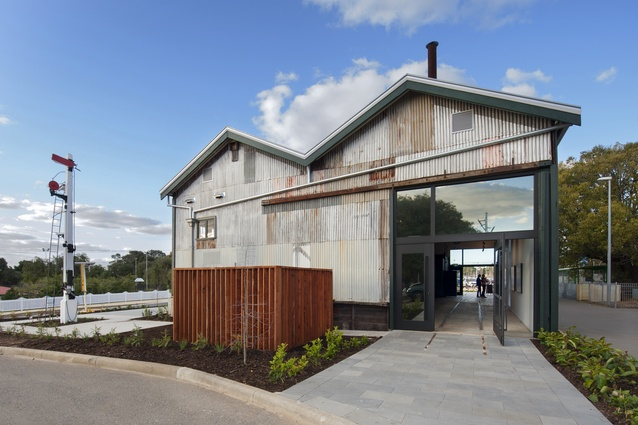 The Goods Shed by Cox Howlett & Bailey Woodland with Griffiths Architects.