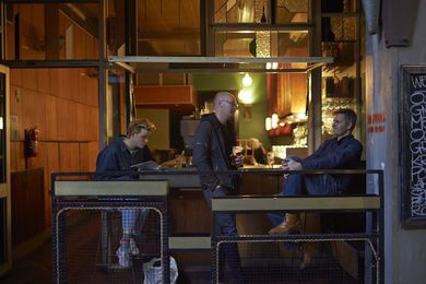"""Meyers Place by Six Degrees Architects was """"a small laneway bar with no name."""""""