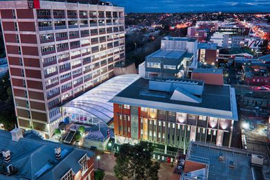 Swinburne University of Technology's Hawthorn campus, where the new architecture program will be based.