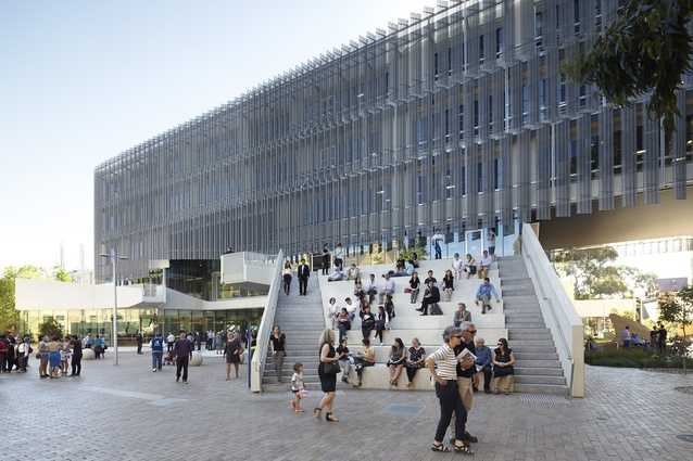Melbourne School of Design, University of Melbourne by John Wardle Architects & NADAAA in collaboration.
