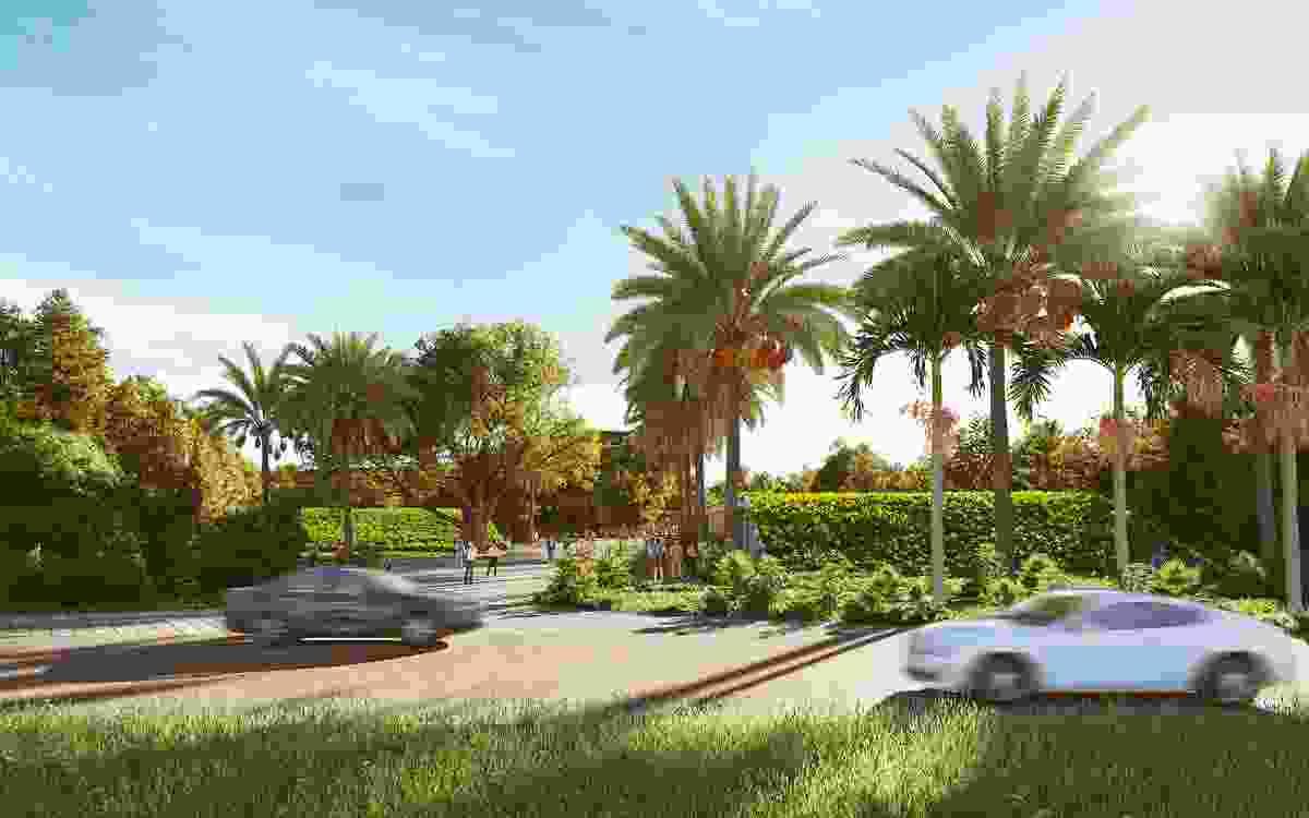 25个Gilruth大道,由Hachem的花园。