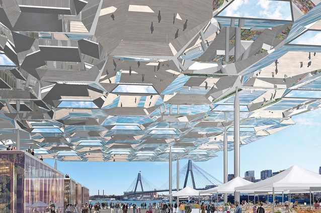 Sydney Fish Markets reference design by Allen Jack and Cottier and NH Architecture.
