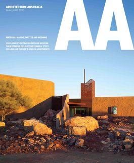 Architecture Australia, May 2013