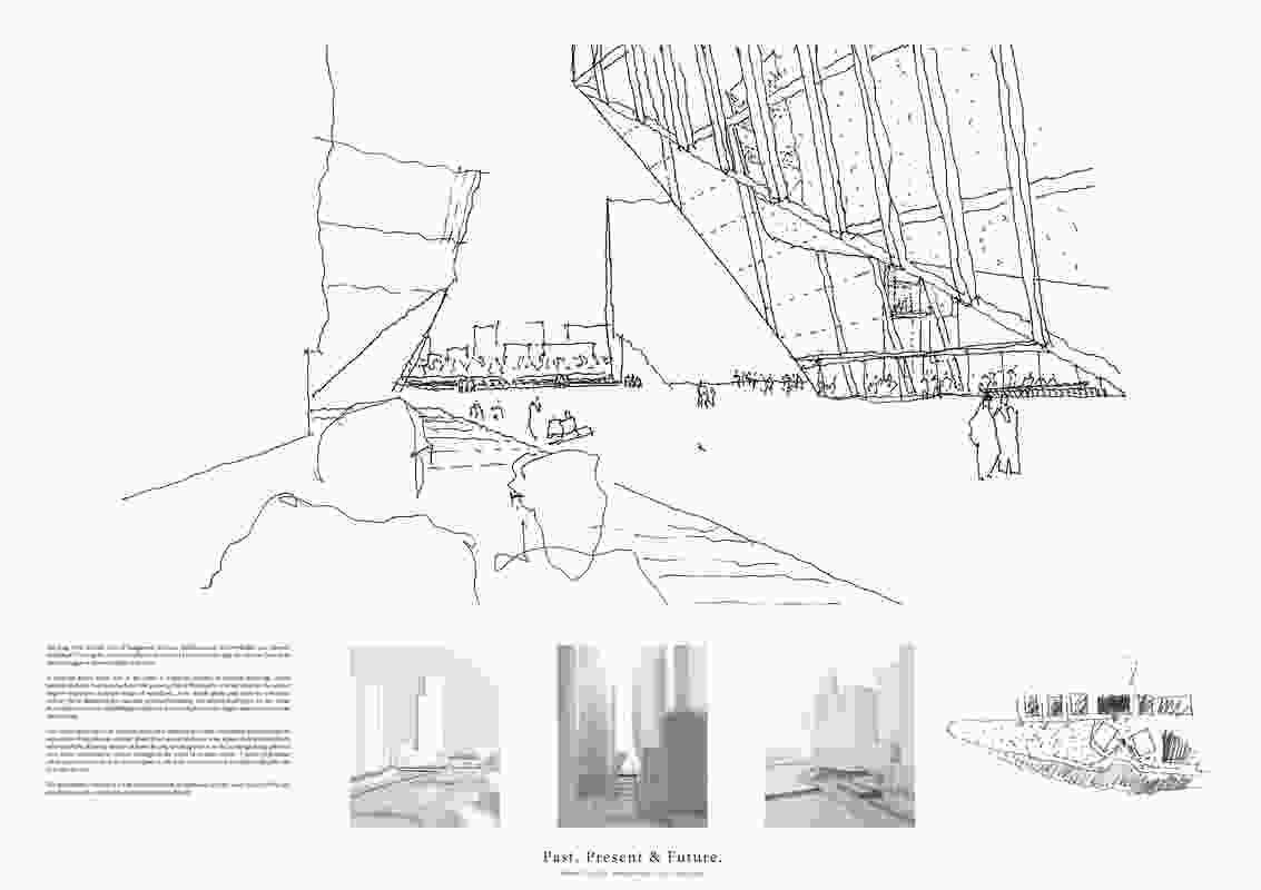 Powerhouse Parramatta proposal by Chrofi (Australia) with Reko Rennie (Australia).