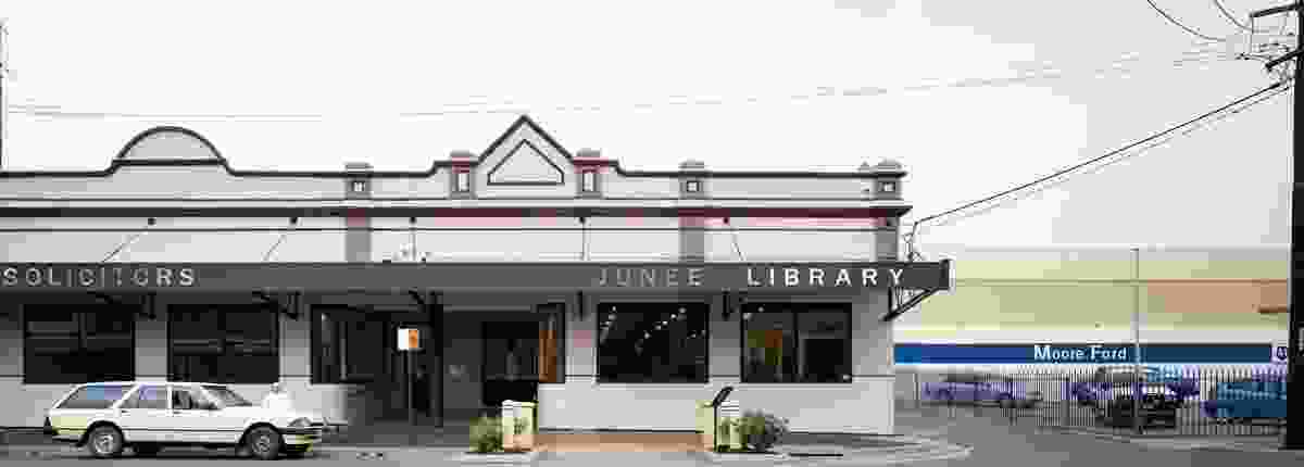 The west elevation on Lorne Street, the main street of Junee.