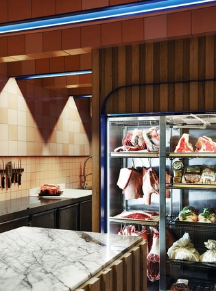 TOMS – The Organic Meat Specialist (South Melbourne, Victoria) by Flack Studio
