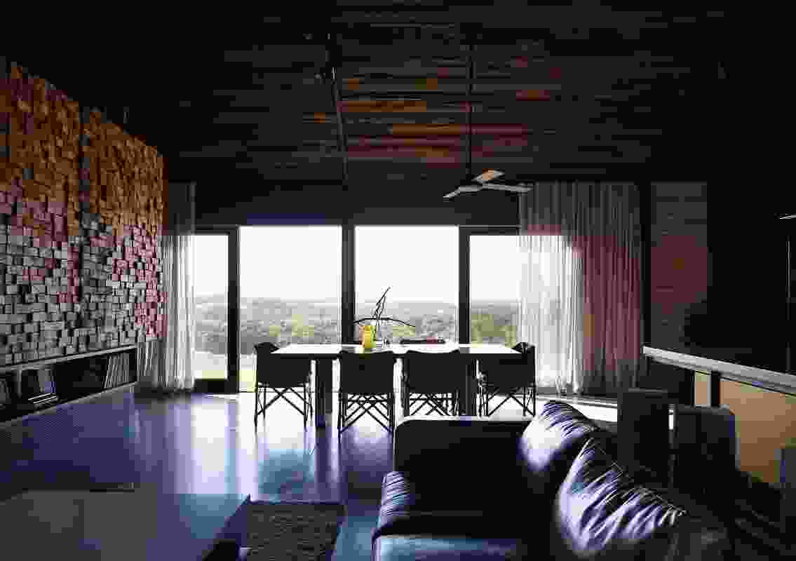 Colour in Residential Design – Hill Plain House by Wolveridge Architects.