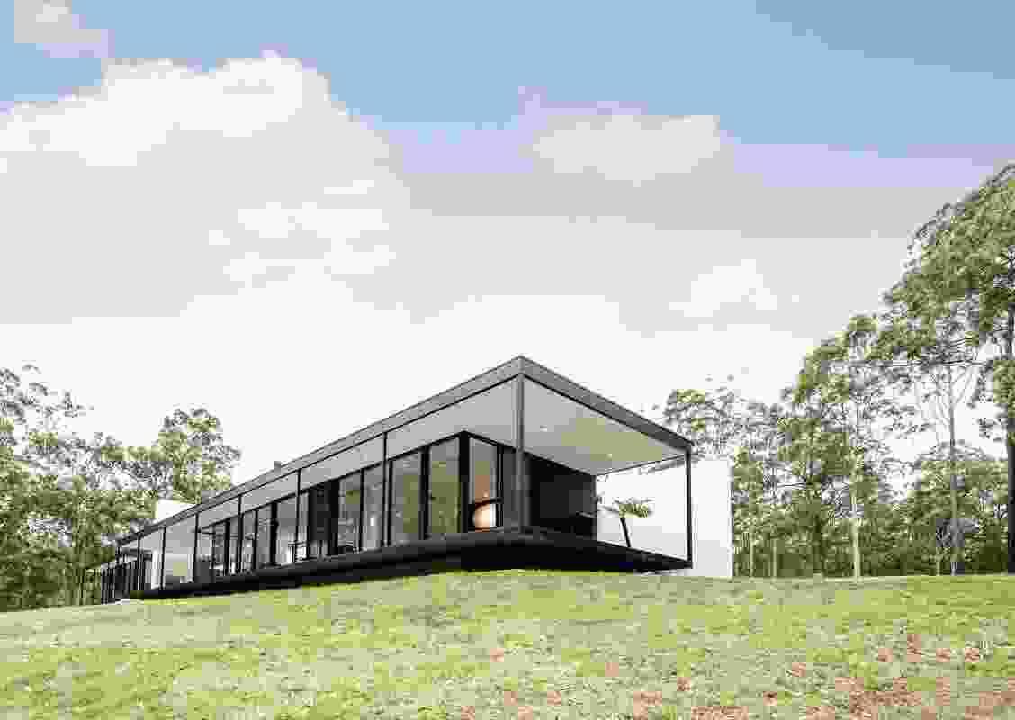 Windywoppa by Collins Caddaye Architects.