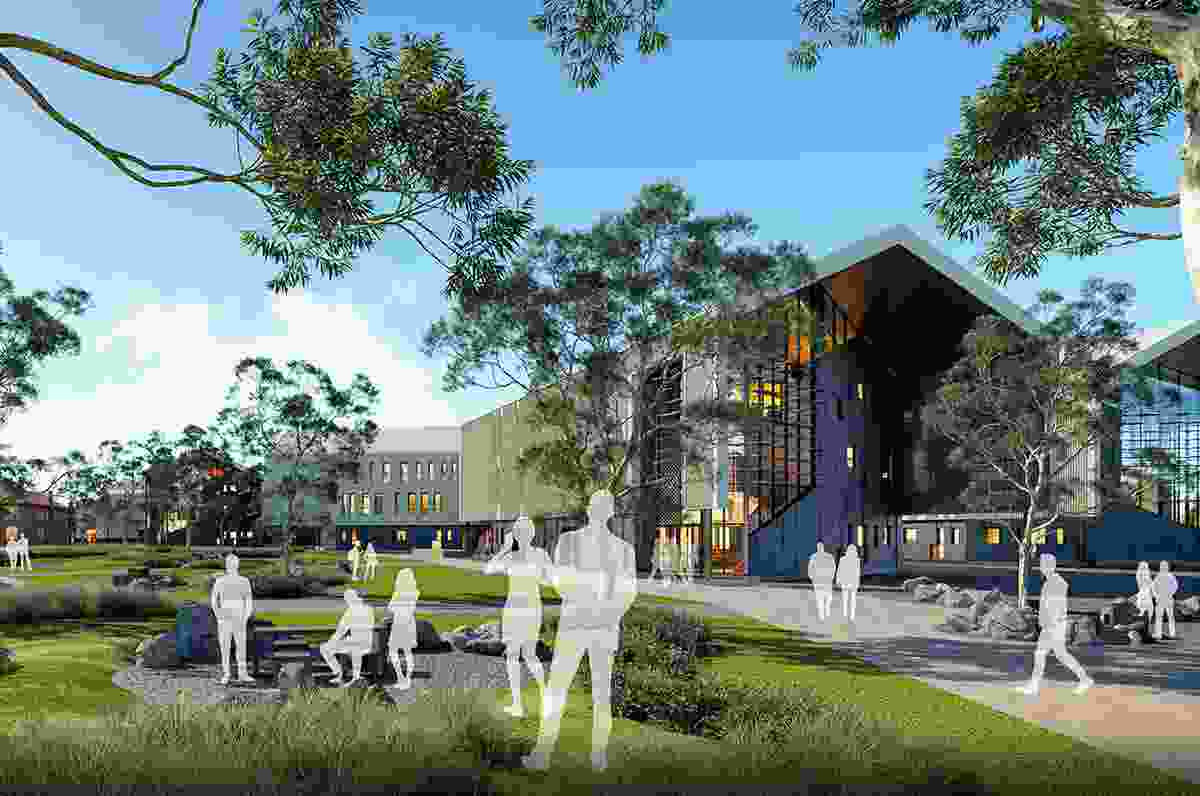 The Greater Shepparton Secondary College by Gray Puksand.