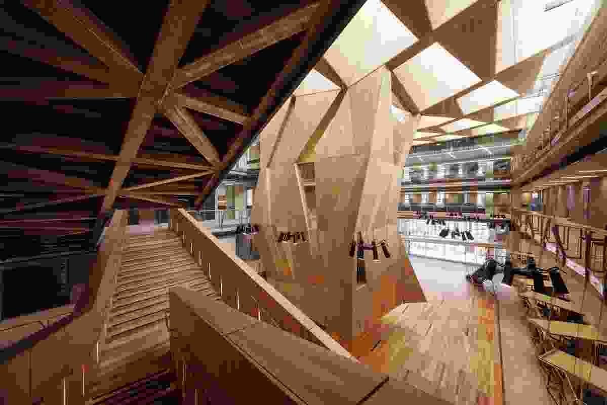 Melbourne School of Design, The University of Melbourne by John Wardle Architects & NADAAA in collaboration.