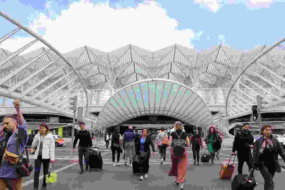 Oriente station by Santiago Calatrava.