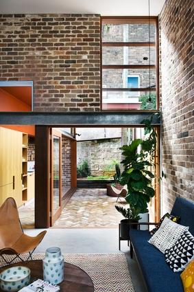 Walter Street Terrace by David Boyle Architect.