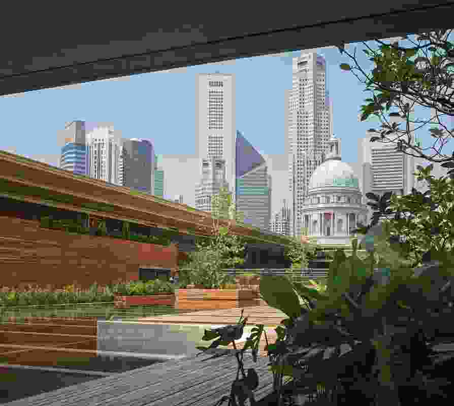 National Gallery Singapore by studioMilou Singapore with CPG Consultants.