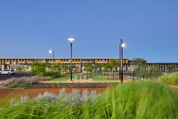 The Karratha Health Campus, designed by Hassell.