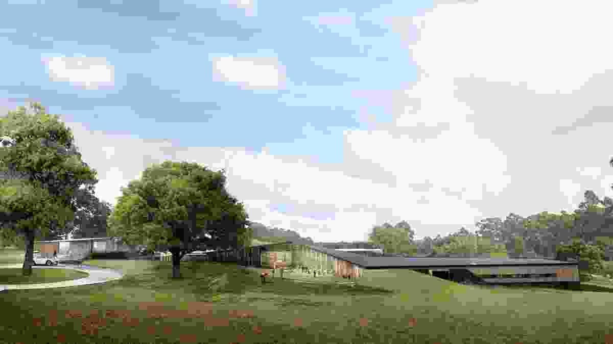 Proposed Port Arthur Hotel by Cumulus Studio.