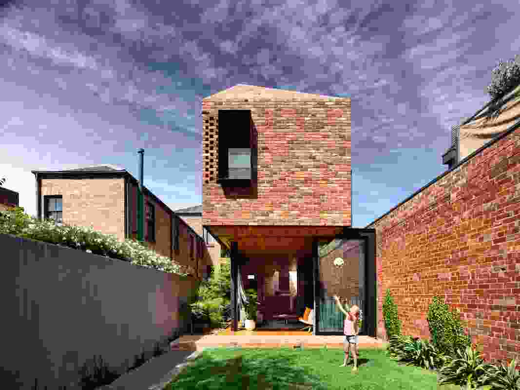 North Melbourne Terrace (Vic) by Matt Gibson Architecture and Design.