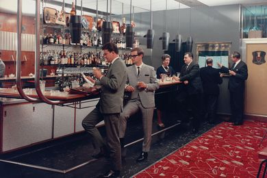 Wolfgang Sievers, Club Bar, Menzies Hotel, Melbourne, 1965, chromogenic photograph.