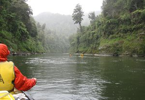 The Whanganui River: now a legal person.