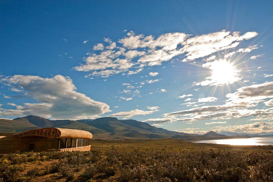 Hotel Tierra Patagonia by Cazu Zegers.