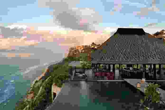 Bulgari Hotel Bali, referencing local culture in its design.