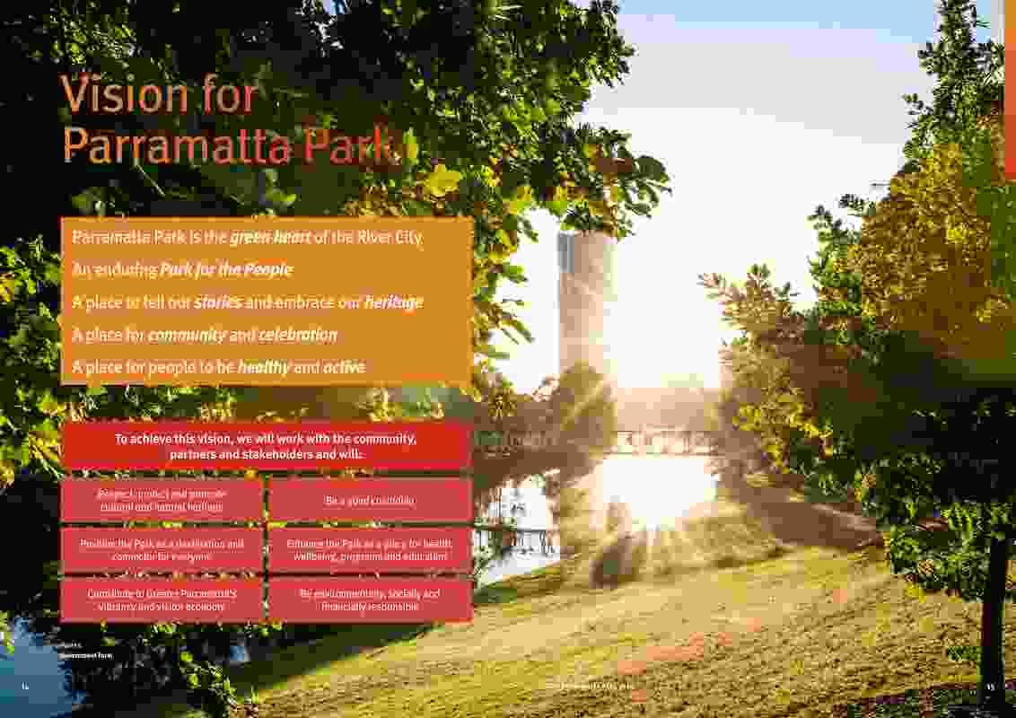 Your Parramatta Park 2030 by Conservation Management Plan and Plan of Management – Parramatta Park Trust