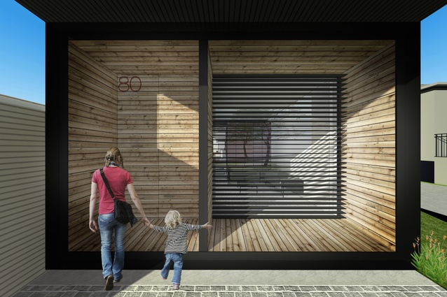 Concept drawing from Bulleen Residence by MODO.