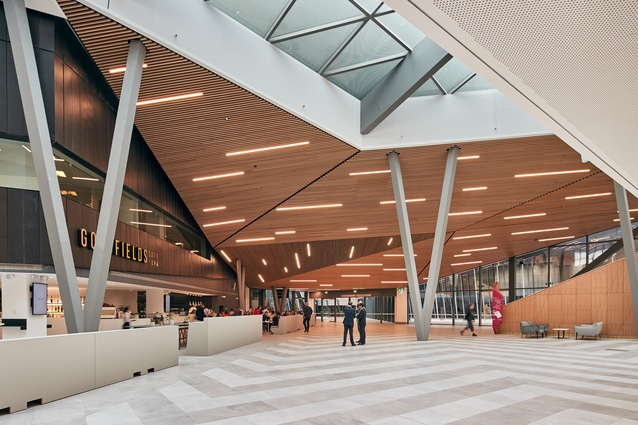 MCEC expansion by NH Architecture and Woods Bagot.
