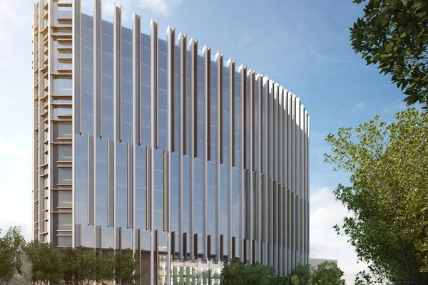 The University of South Australia's Health Innovation Building by BVN Architects and Swanbury Penglase Architects.