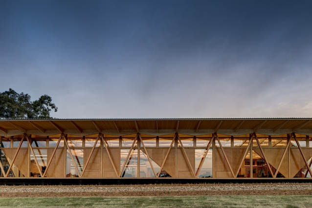 Architectus's Macquarie Incubator was highly commended in the Wood in Architecture category.